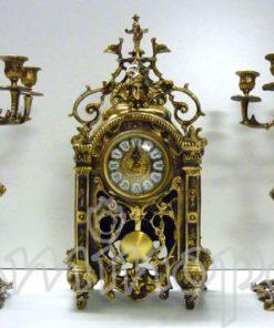 Trittico con Orologio V142 Pendolo