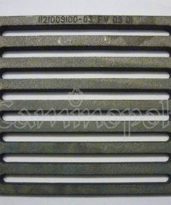 Griglia Cenere in Ghisa Quadra MG03 Montegrappa 22,5x21,5