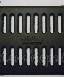Griglia Cenere in Ghisa MG04 Montegrappa 22,5x21,5