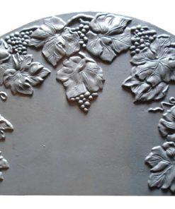 Piastra in ghisa F140 Bacco - Uva